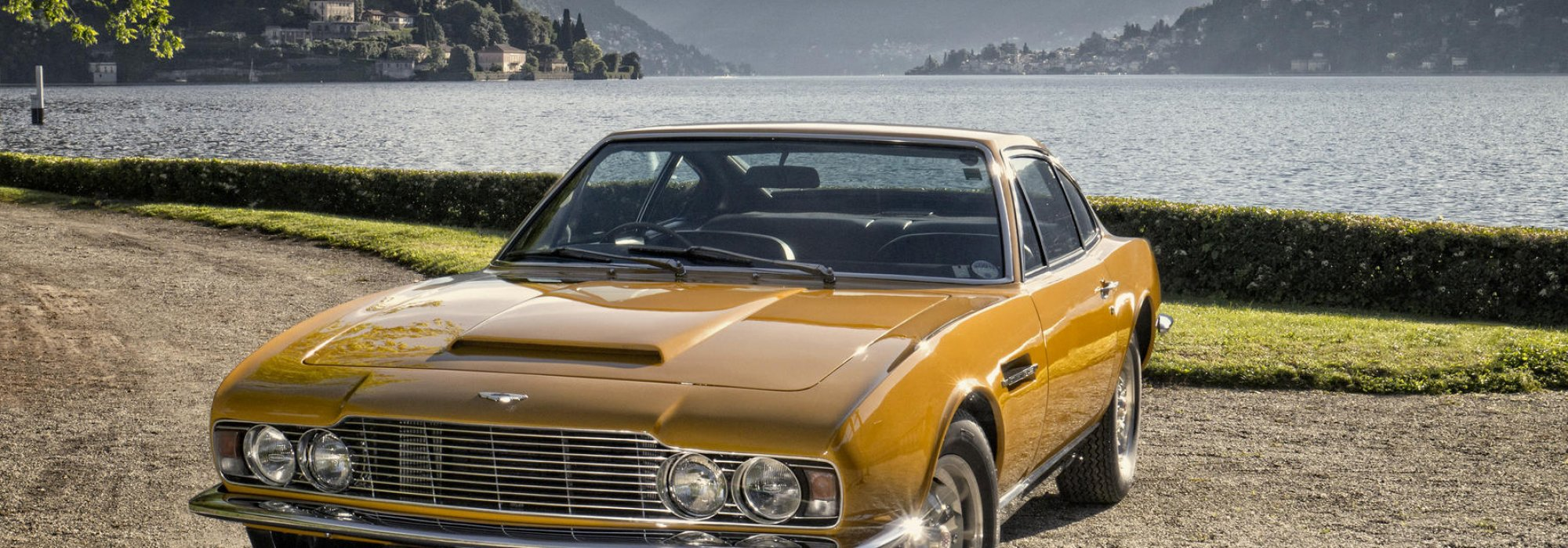 Aston Martin DBS V8 sports saloon